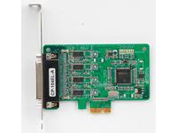 Moxa PCI EXPRESS KORT, 4 PORT RS-23 CP-104EL-A-DB-9M, SURGE PROTEC 44751M - eet01