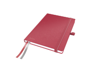 Leitz/Esselte Notepad Complete A5 Ruled.Red Leitz. 96g 80sheets 44780025 - eet01