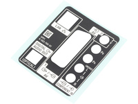 Sony Label Rear Terminal  456376601 - eet01