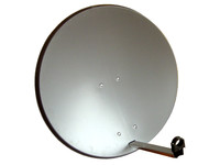 Maximum 85 cm Sat Dish 6 dgr Solution 2 x Single LNB / DiSEqC / 4742 - eet01