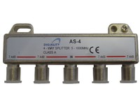 4804 Digiality Antenna AS-4 splitter 5-1000 MHz - eet01