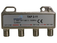 4831 Digiality 2-way tap 2.7/11 dB 5-1000 MHz - eet01