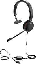 Jabra EVOLVE 20 UC Mono MS Optimized, USB Headband 4993-823-109 - eet01
