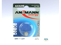 ANSMANN Battery LR 41, 1.5 V, Alkaline 1pcs/pack 5015332 - eet01