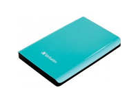 53171 Verbatim External HD 500 GB USB Green 64 mm 2.5 inch - eet01