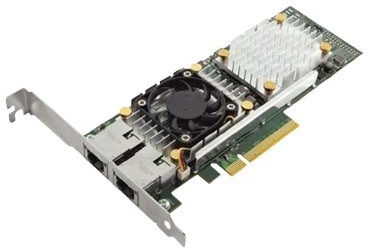 Dell Broadcom 57810 Dual Port 10Gb Base-T LowProfile Network 540-BBIU - eet01