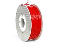 Verbatim PLA 3D Filament, Red 2,85mm Diameter, 1kg Reel 55279 - eet01