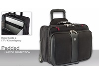 Wenger PATRIOT WHEELED NOTEBOO CASE 17INCH 600662 - eet01