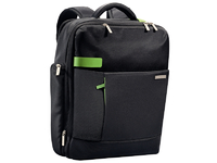 "Leitz/Esselte Backpack for Laptop 15.6"" Leitz Smart Traveller black 60170095 - eet01"