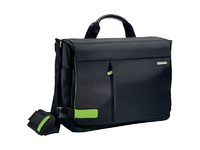 "Leitz/Esselte Bag for Laptop 15.6"" Messenger Leitz Smart Traveller black 60190095 - eet01"