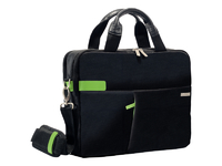 "Leitz/Esselte Bag for Laptop 13.3"" Leitz Smart Traveller black 60390095 - eet01"