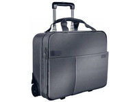 Leitz Trolley bag 2 Wheel Carry-on Silver Grey 60590084 - eet01