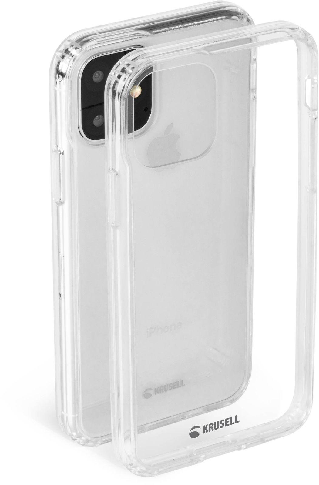 Krusell Kivik Cover iPhone 11 Transparent 61772X - eet01