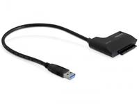 Delock Converter Delock USB3.0 SATA 3.0 22pin 6Gb/s St/Bu 61882 - eet01