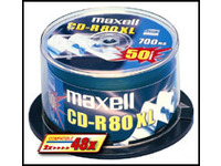 Maxell CD-R 80 XL 700MB 48X CB 25 pcs 628522 - eet01