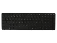 HP Keyboard (DANISH) Without pointing stick 641180-081 - eet01