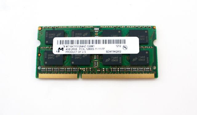 HP 4GB, 1600MHz, PC3-12800  689373-001 - eet01