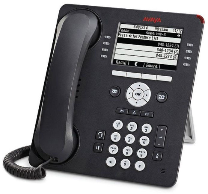 Avaya 9608G IP Deskphone VoIP Grey **New Retail** 700505424 - eet01