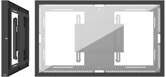 SMS 55L/P Casing Wall G2 Black RAL9005 701-004-12 - eet01