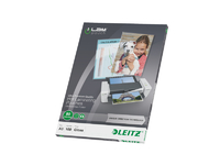 Leitz/Esselte Lamination pouch A3 UDT 80 mic Leitz. Box of 100 pouches 74850000 - eet01
