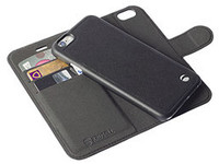 Krusell Malm Wallet+Cover 2in1 Black F/iPhone 6 76081 - eet01