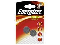 Energizer Battery CR2016 Lithium 2-pak  7638900248340 - eet01