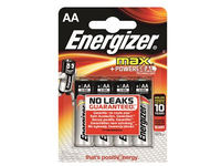 Energizer Battery AA/LR6 Max 4-pak  7638900341232 - eet01