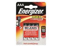 Energizer Battery AAA/LR03 Max 4-pak  7638900341249 - eet01