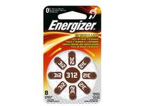 Energizer Hear.aid Battery Zinc Air 31 8-pak 7638900349245 - eet01