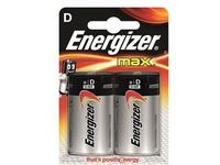 Energizer Battery D/LR20 Max 2-pak  7638900410457 - eet01