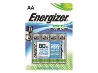 Energizer Battery AA/LR6 Eco Advanced 4p  7638900410716 - eet01
