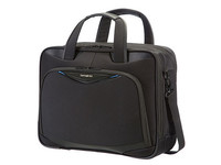 "Samsonite Triforce Bailhandle M 16"" Black 79V09004 - eet01"