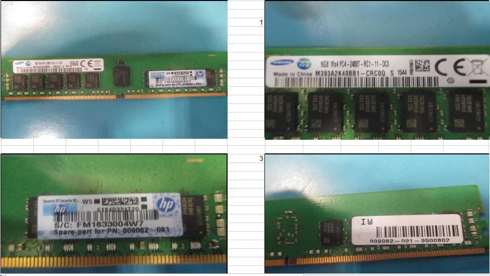 Hewlett Packard Enterprise SmartMemory 16GB, 2400MHz PC4-2400T-R, DDR4, 819411-001 - eet01