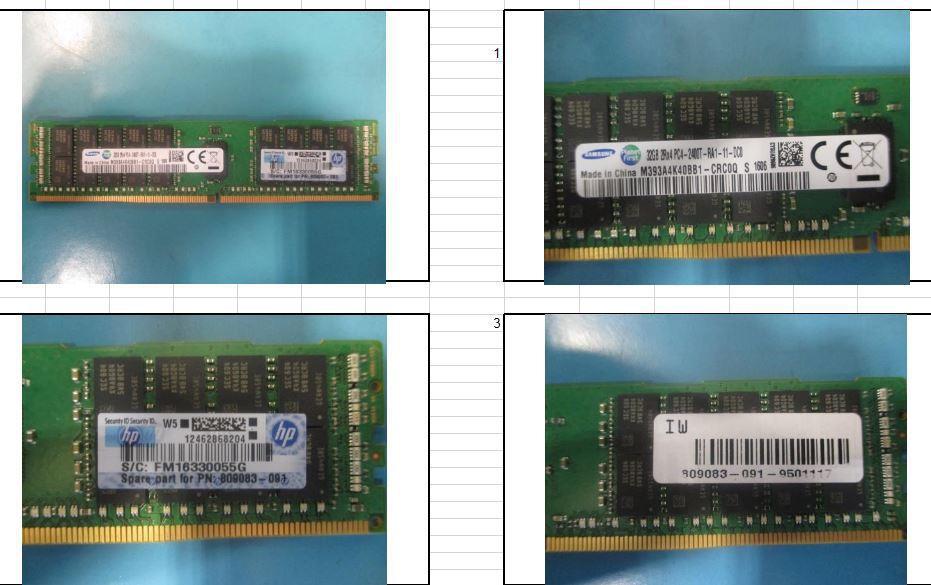 Hewlett Packard Enterprise SmartMemory 32GB 2400MHz PC4-2400T-R, DDR4 (RDIMM) 819412-001 - eet01
