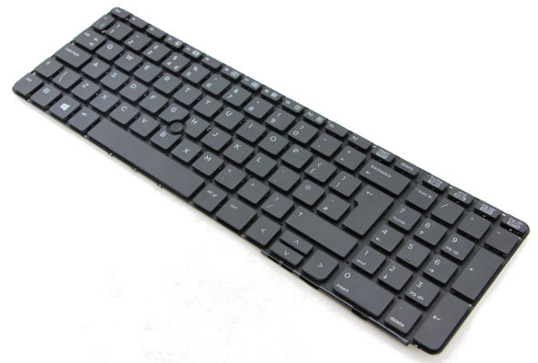 HP Inc. Keyboard (Belgium) Backlit with PointStick 836623-A41 - eet01