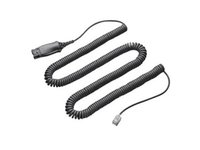 Jabra QD CORD with resistor 47K Ohm Coiled 8800-01-19 - eet01