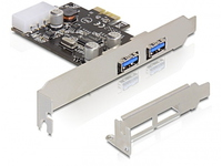 Delock 2x USB 3.0 PCI Express card  89243 - eet01