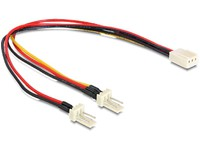 Delock Cable Molex 3 pin female > 2 x Molex 3 pin male (fan) 22 89343 - eet01