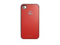 89643 Krusell GlassCover Red F/iPhone 4/4S - eet01