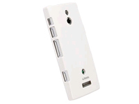 89706 Krusell ColorCover White Metallic Made for Sony Xperia P - eet01