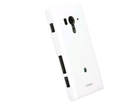 89712 Krusell ColorCover White Metallic Made for Sony Xperia acro S - eet01