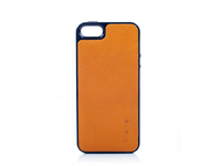 Knomo IPhone 5 Moulded Open Face Leather, Burnt Orange 90-950-BTO - eet01