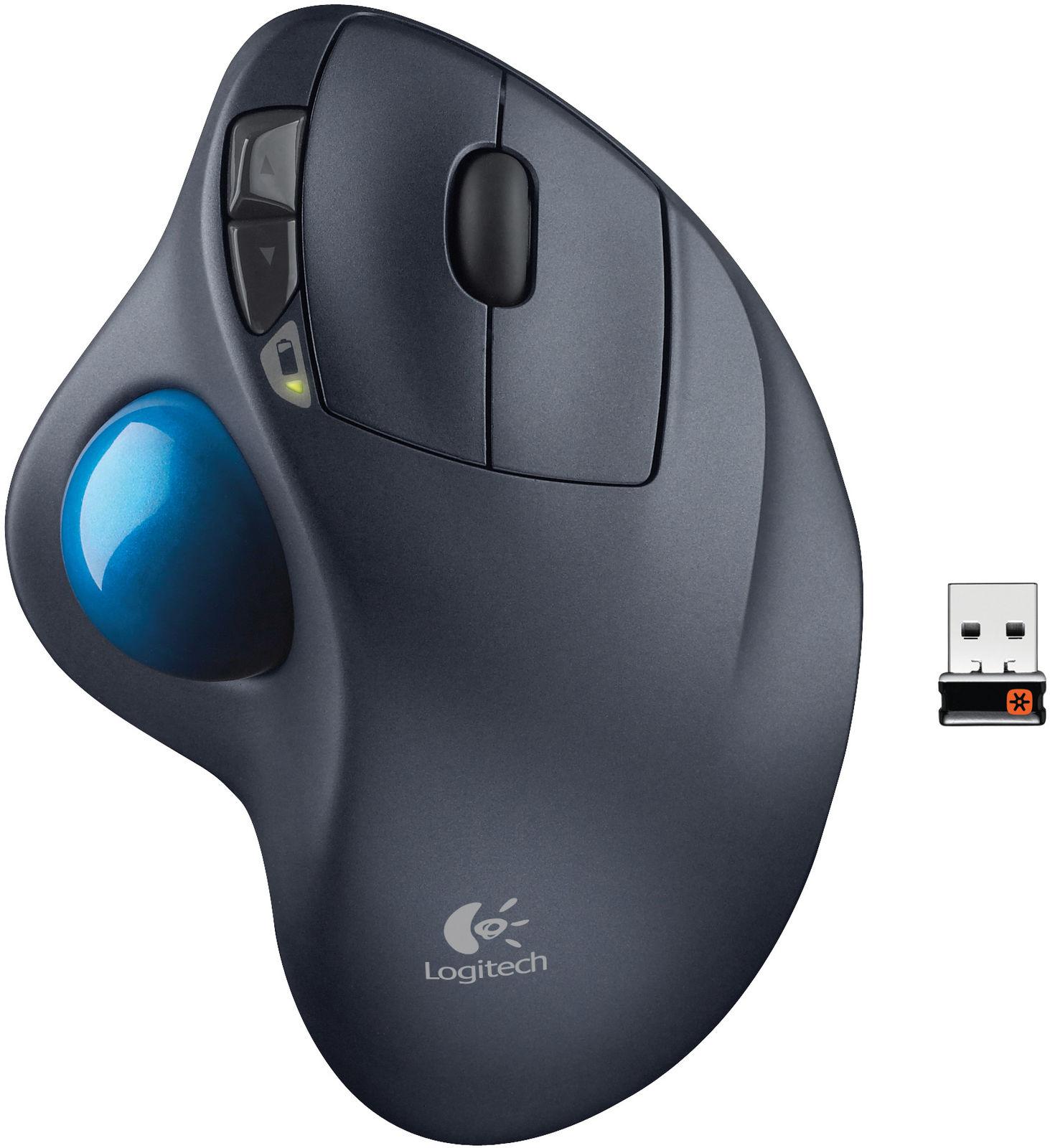 Logitech M570 Trackball, wireless  910-001799 - eet01