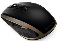 Logitech MX2 Anywhere Mouse Black/brown, wireless 910-004374 - eet01