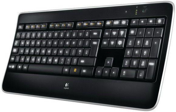 Logitech K800 Keyboard, French Wireless Illuminated 920-002372 - eet01