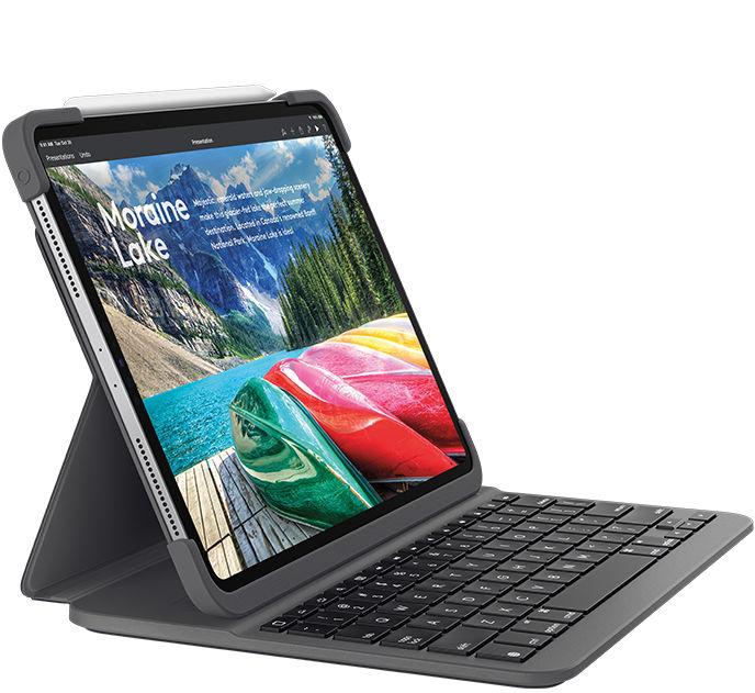 """Logitech Keyboard Slim Folio Pro IPad 12.9"""" & Pro 11"""" 3rd Gen 920-009147 - eet01"""