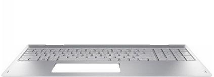HP Top Cover W/ Keyboard GR NSV DSC 924353-041 - eet01