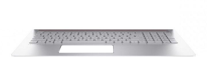 HP Top Cover Obl W Kb Nsv Bl Gr  928440-041 - eet01