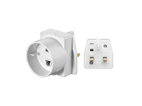 93255 MicroConnect Travel adapter UK For devices with euro plug - eet01