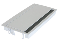 935-TA28 Noname TopAccess Desk 306x151mm Silver - eet01